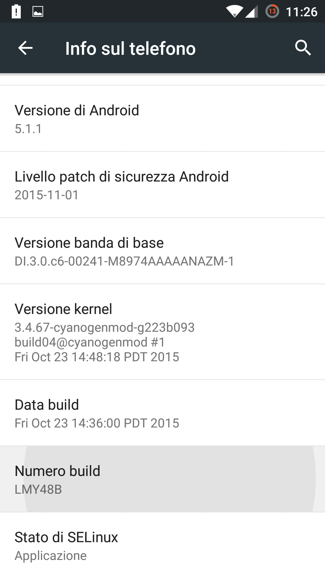 build android lollipop