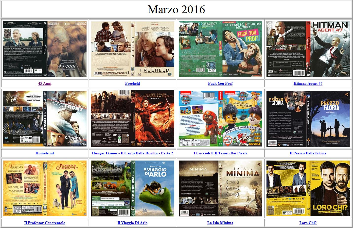 Cover DVD Marzo 2016