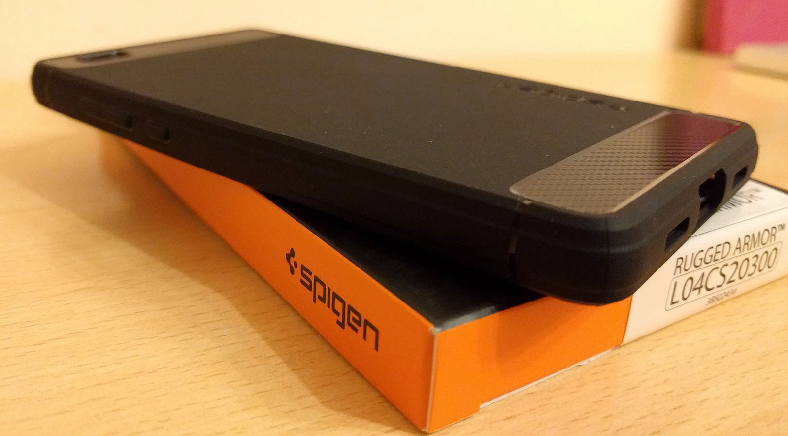 Proviamo la cover Spigen Per Huawei P8 Lite