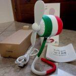 Ventilatore portatile Telego Italia