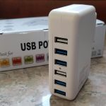 aLLreLi Caricatore USB da Muro