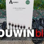 6 Cavi Micro USB Aukey