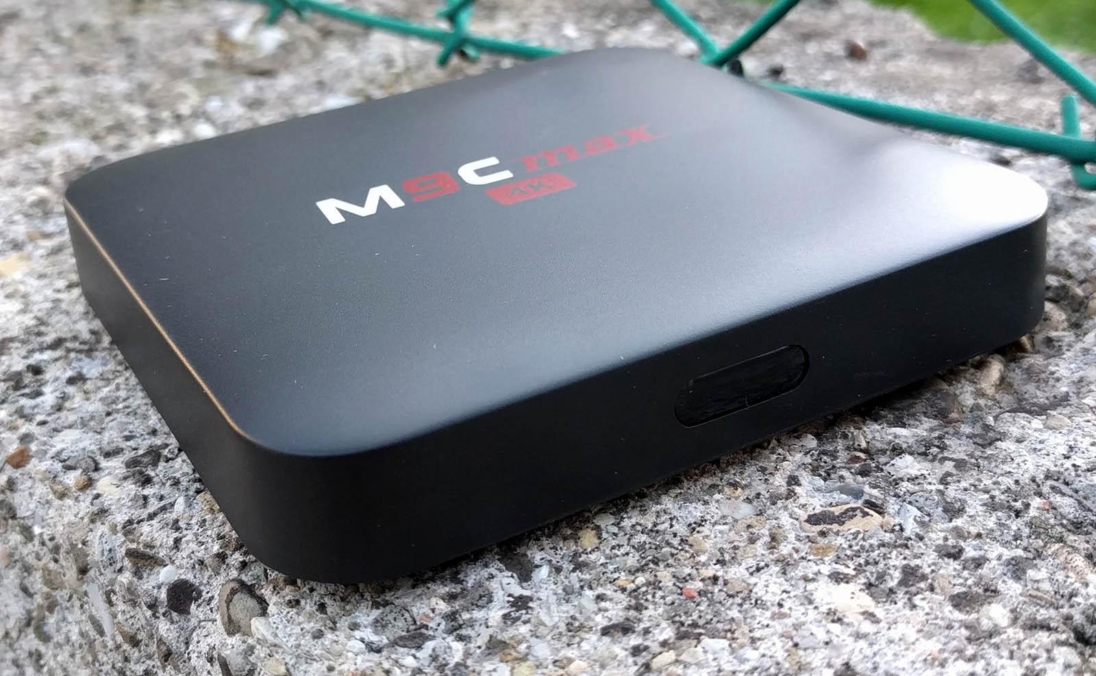 TV Box Android Bqeel M9C Max