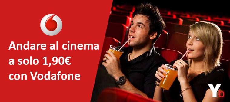 Cinema ad 1,90€? Possibile con Vodafone