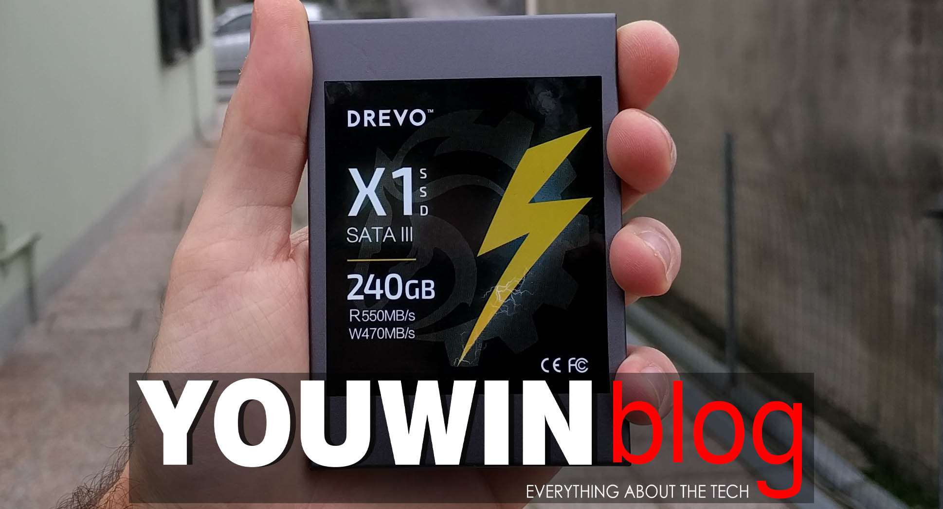 SSD Drevo X1 SATA III – 240GB