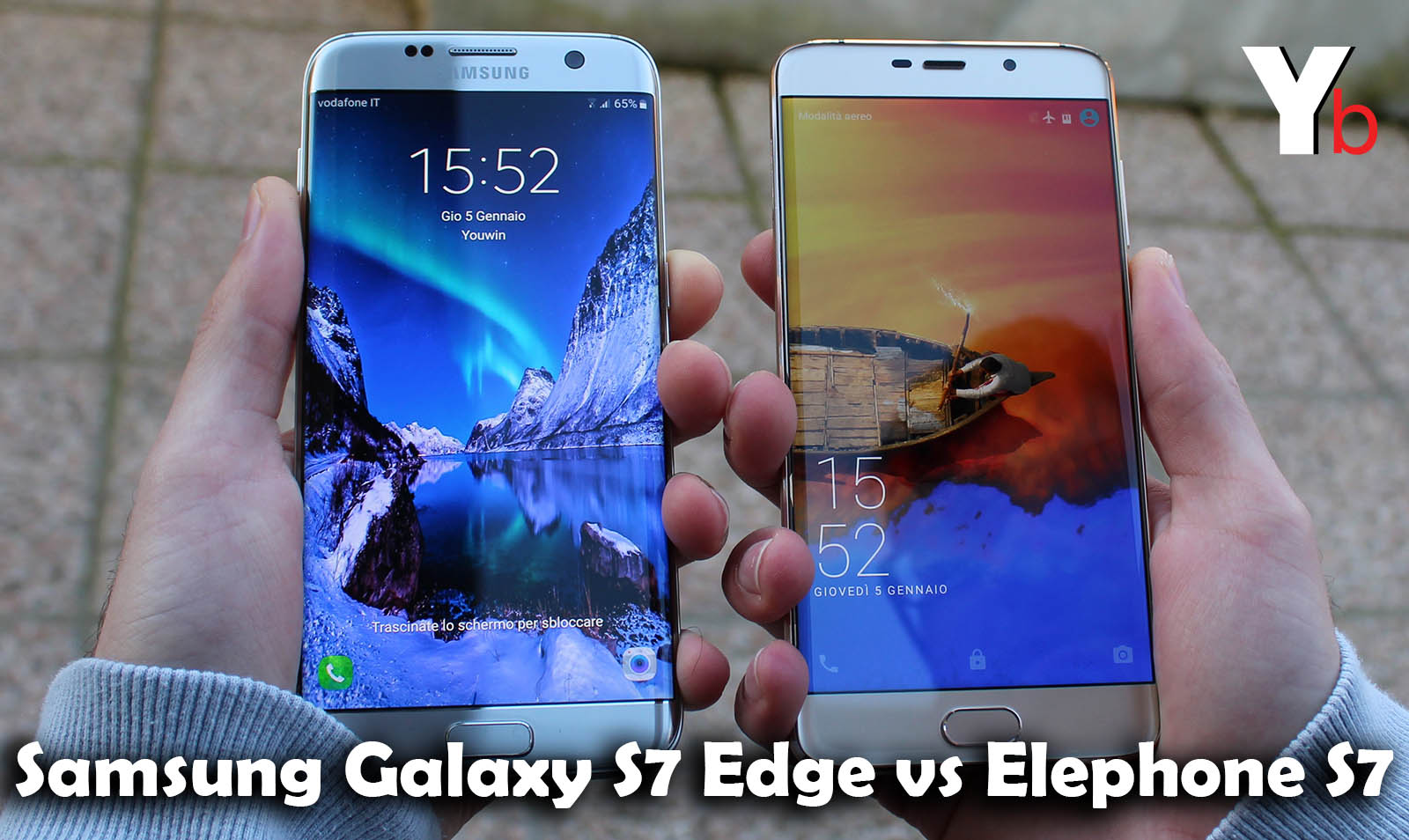 Galaxy S7 vs Elephone S7 – Speed TEST Comparison