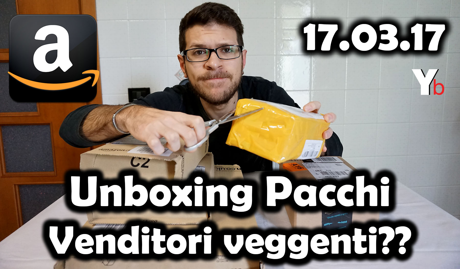 Unboxing Pacchi 17.03.17