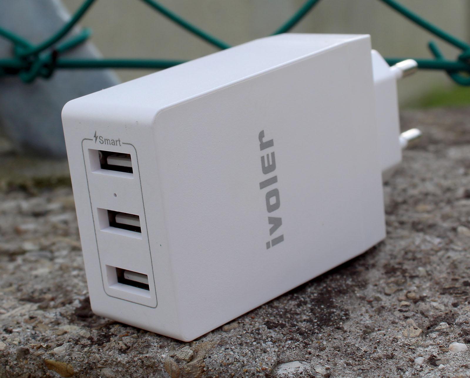 Caricatore da muro iVoler con 3 USB