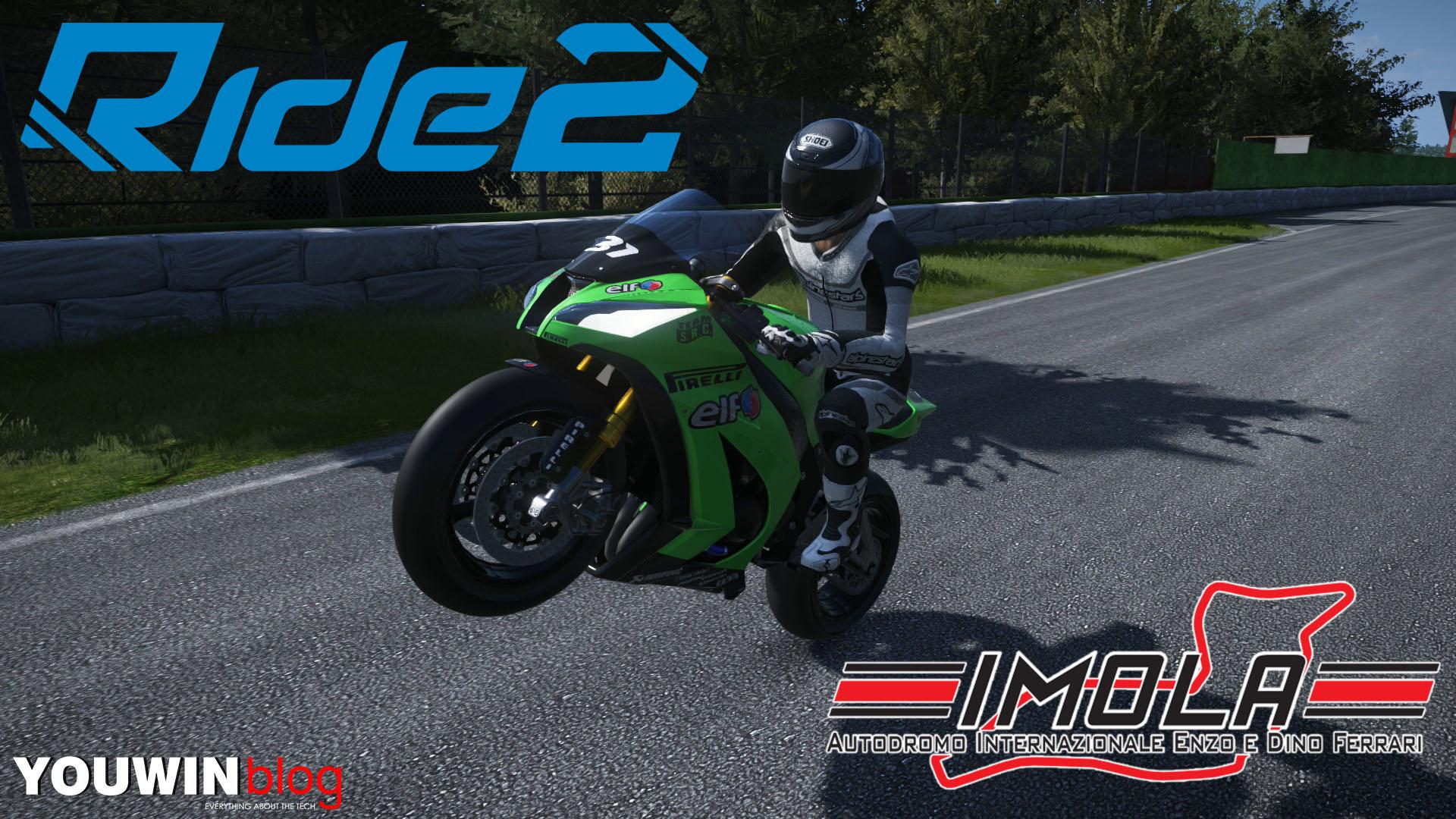 Ride 2 – Race Kawasaki Ninja ZX-10R @ Imola