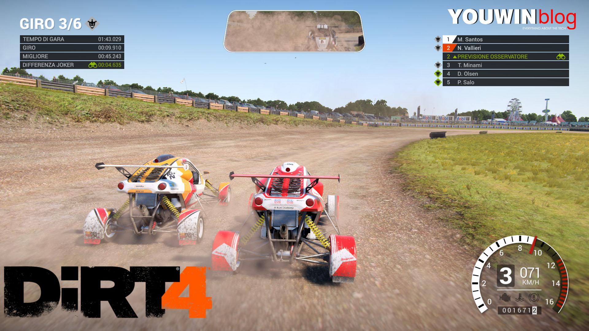Dirt 4 – La mia prima gara