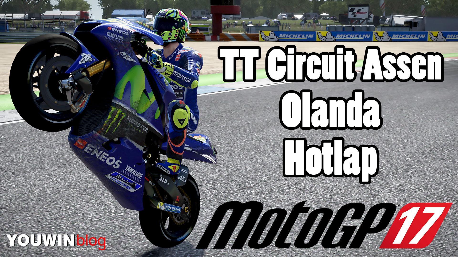 MotoGP 17 Hotlap Yamaha M1 @ Assen