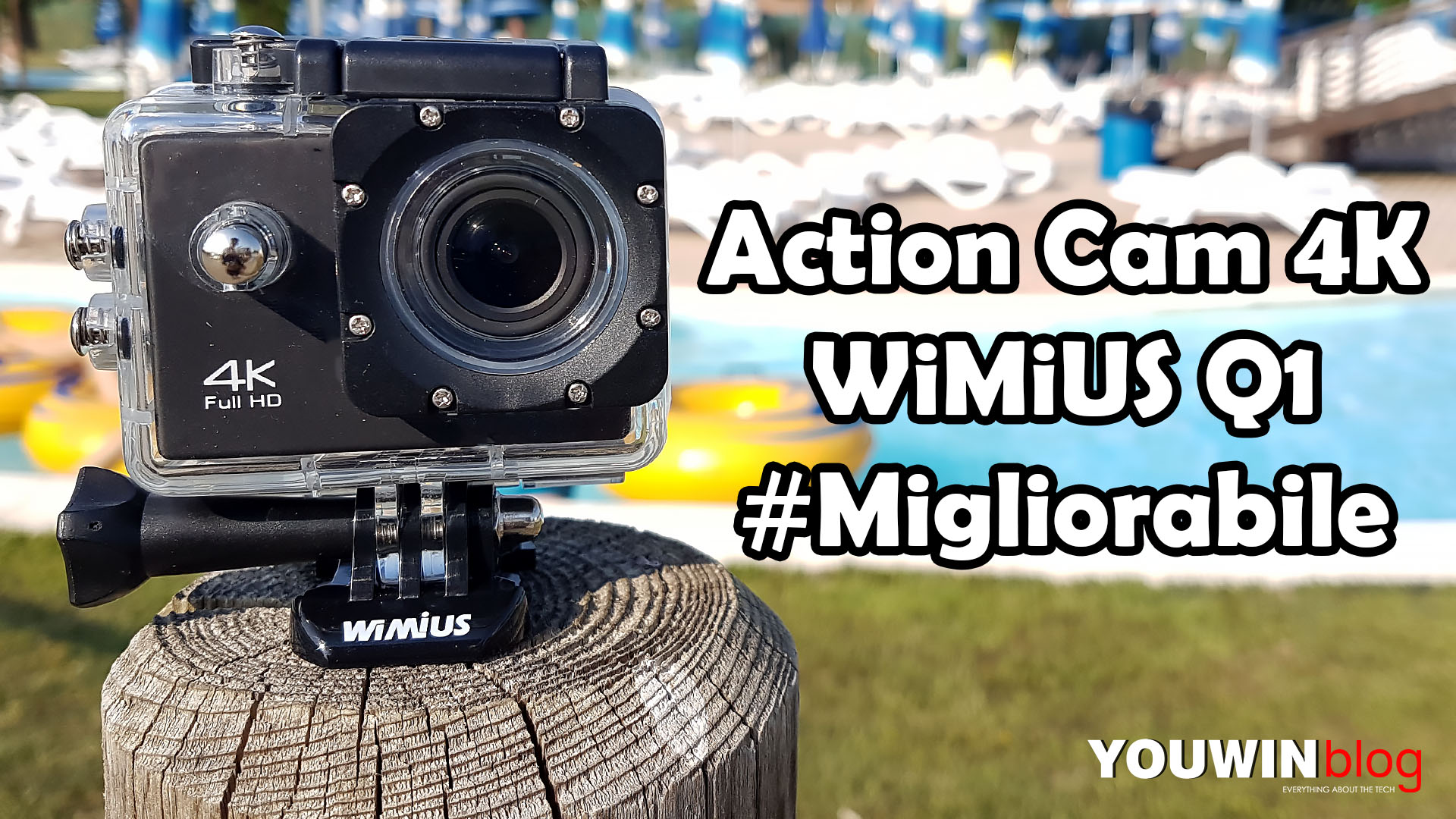 Recensione Action Cam 4k Wimius Q1 Entry Level Youwin Blog