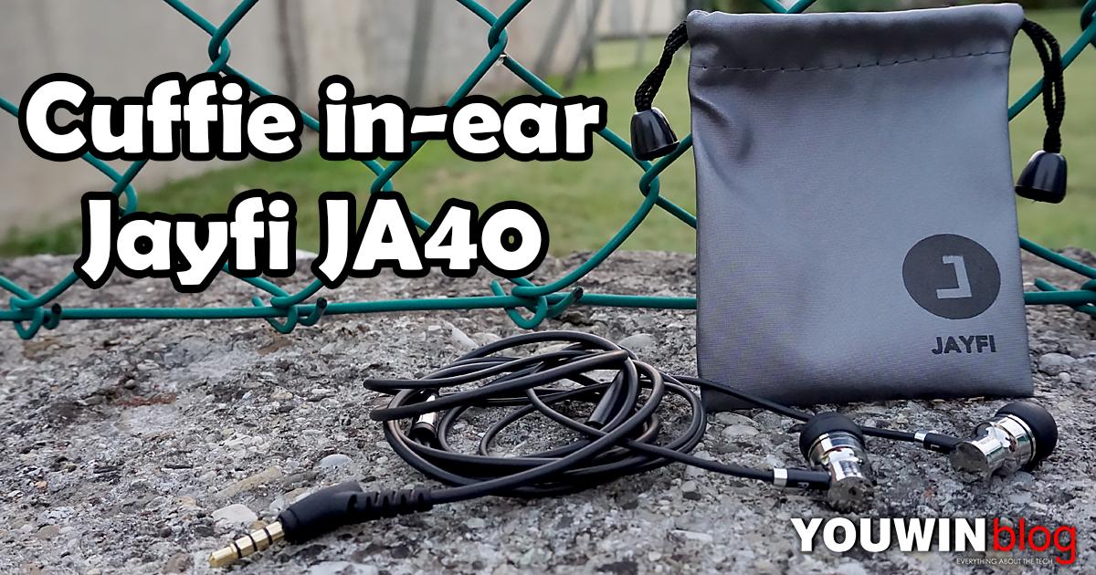 Cuffie In-Ear Jayfi JA40