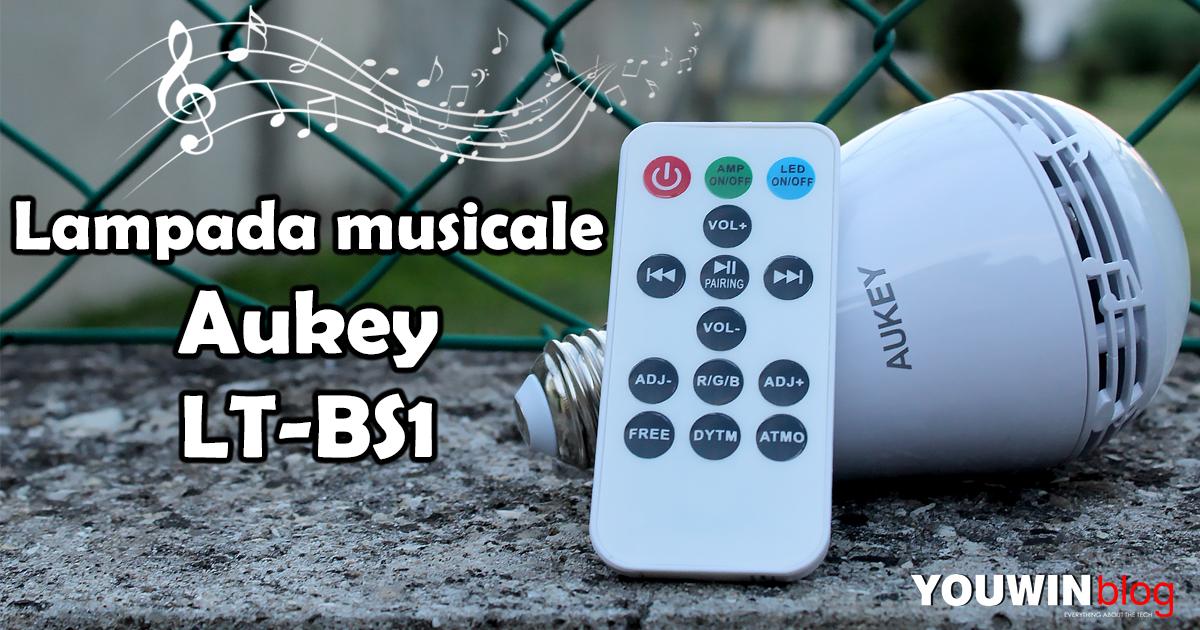 Lampada musicale Aukey LT-BS1