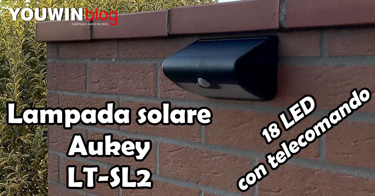 Lampada solare Aukey LT-SL2