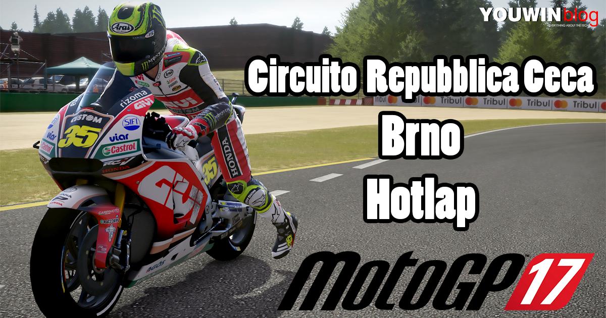 MotoGP 17 Hotlap Honda RC213V @ Brno