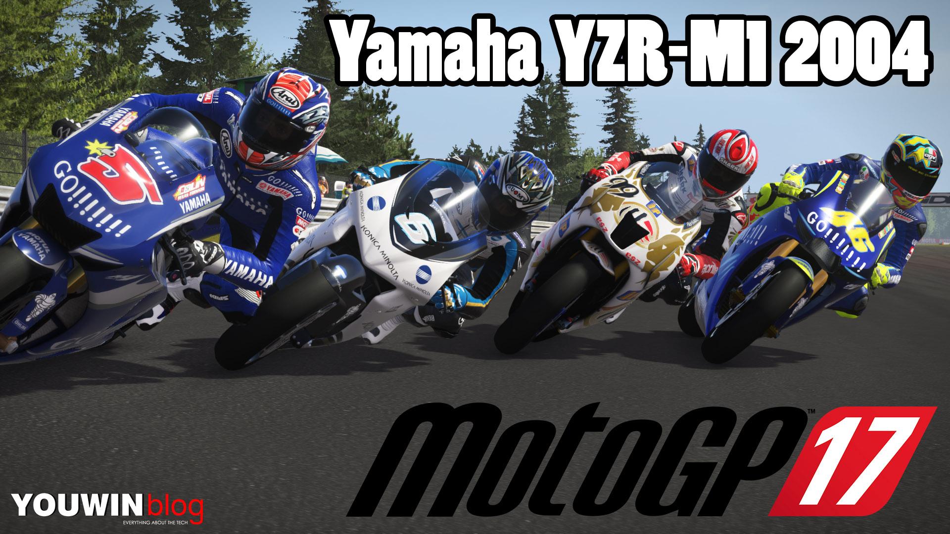 MotoGP 17 Classic | Gara Yamaha M1 2004