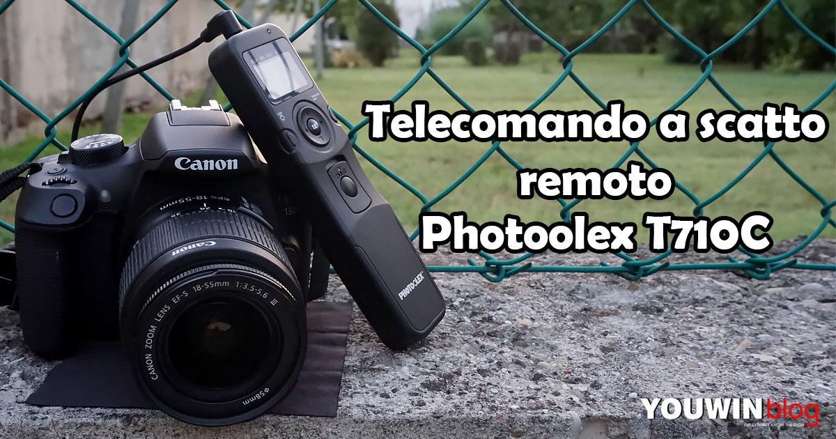 Telecomando a scatto remoto Photoolex T710C