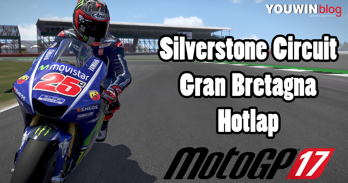 MotoGP 17 Hotlap Yamaha M1 @ Silverstone