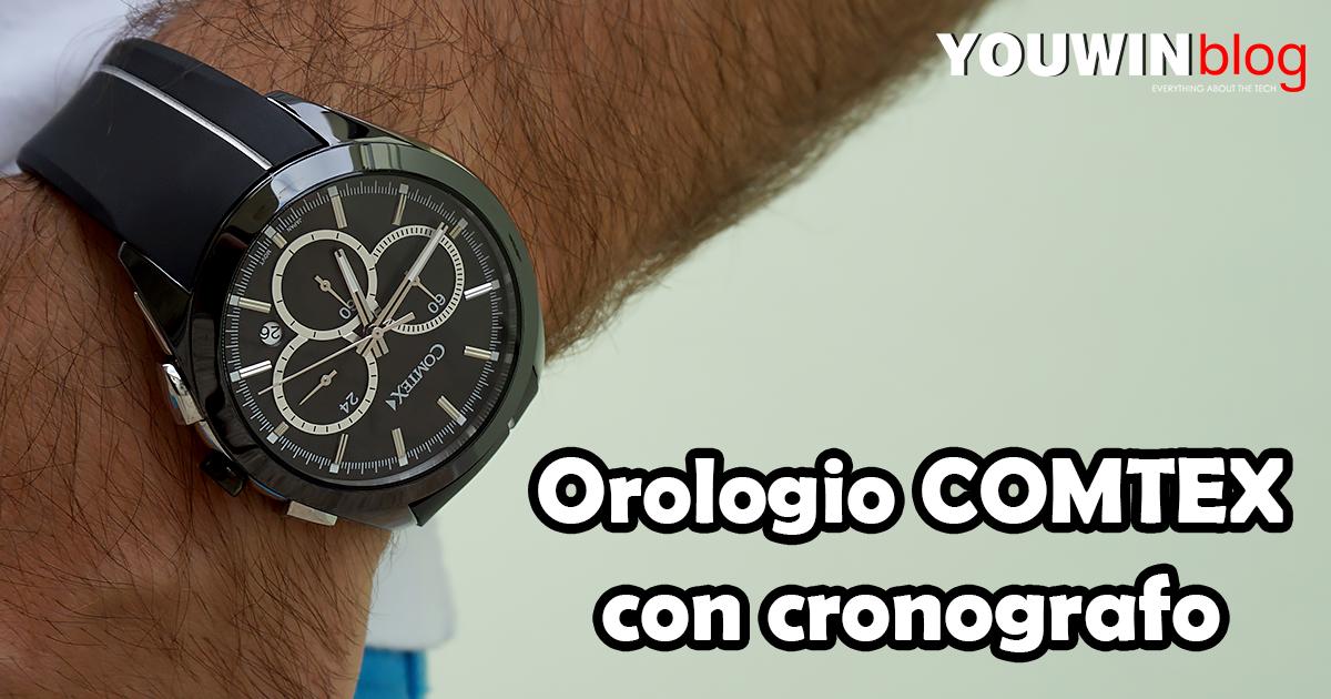 Orologio COMTEX con cronografo