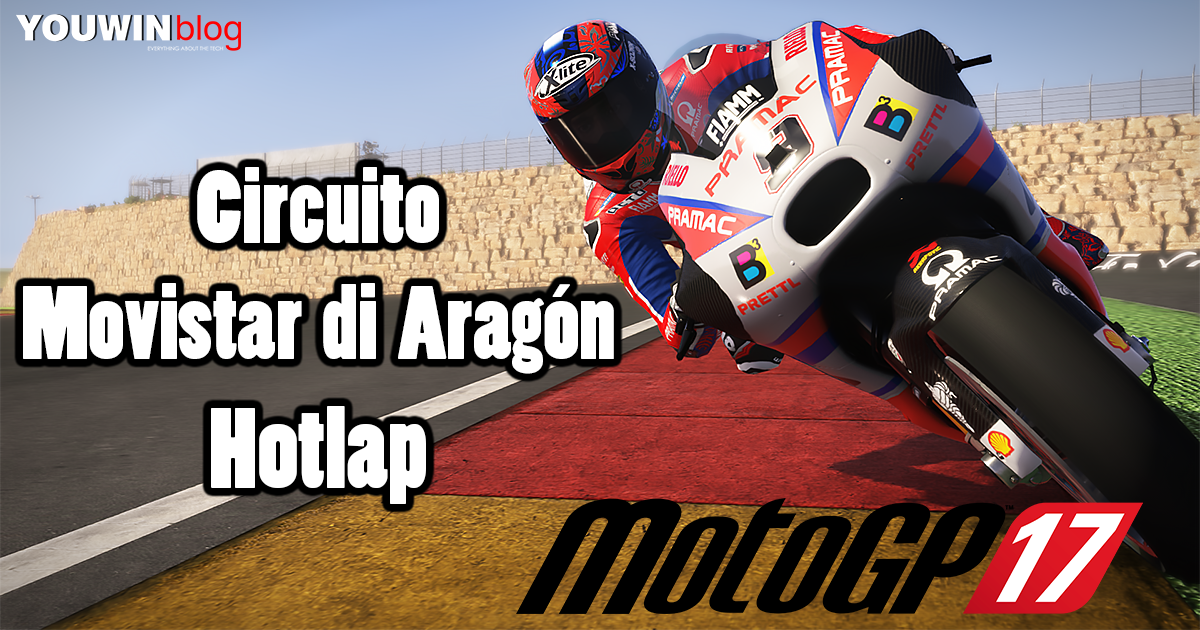 MotoGP 17 Hotlap Ducati Pramac @ Aragon