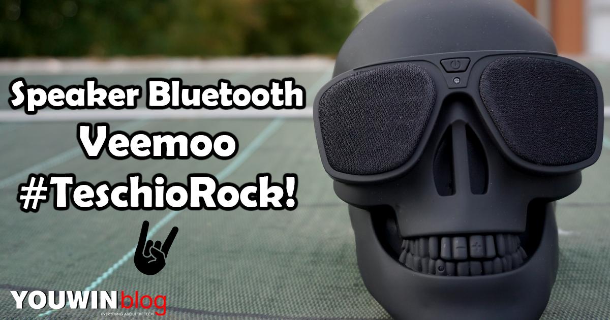 Speaker Bluetooth Veemoo Skull