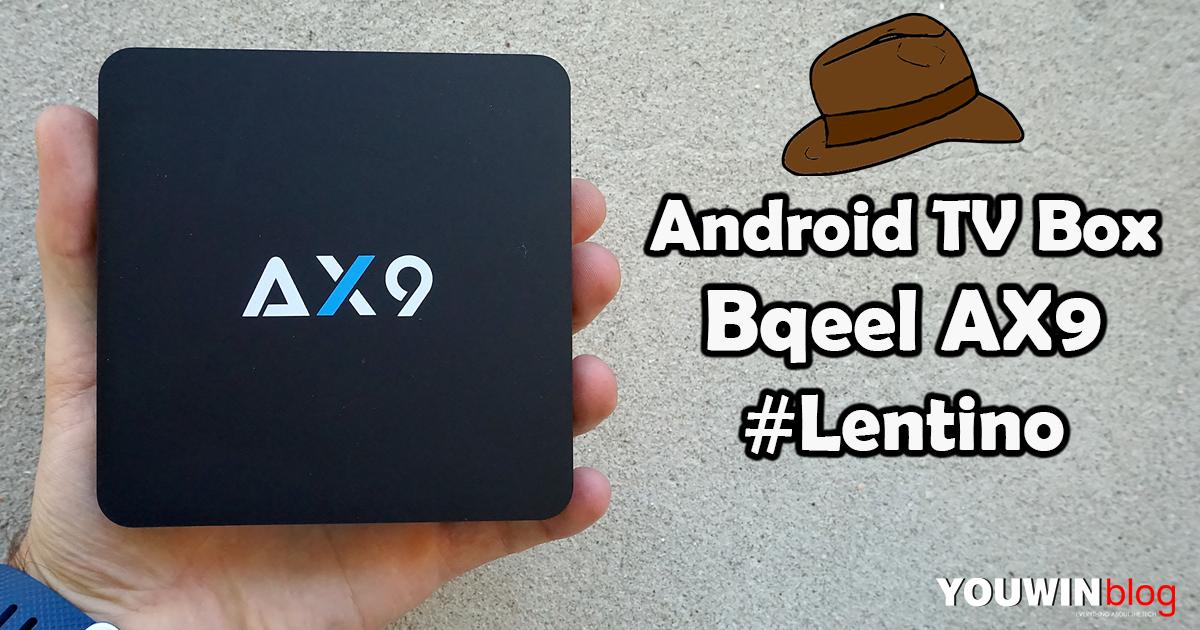 Android TV Box Bqeel AX9