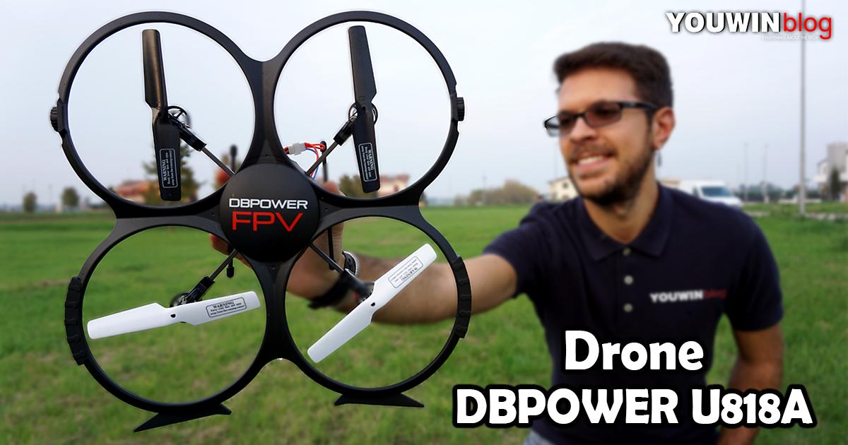 Drone DBPower U818A