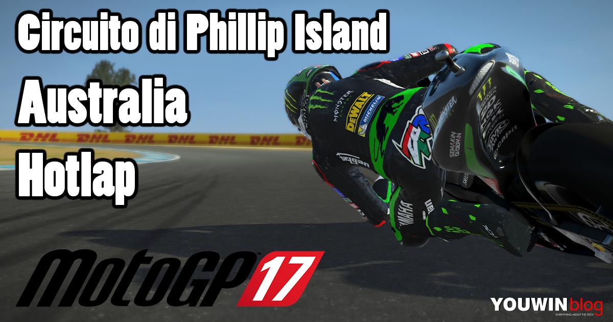 MotoGP 17 Hotlap Yamaha M1 @ Australia
