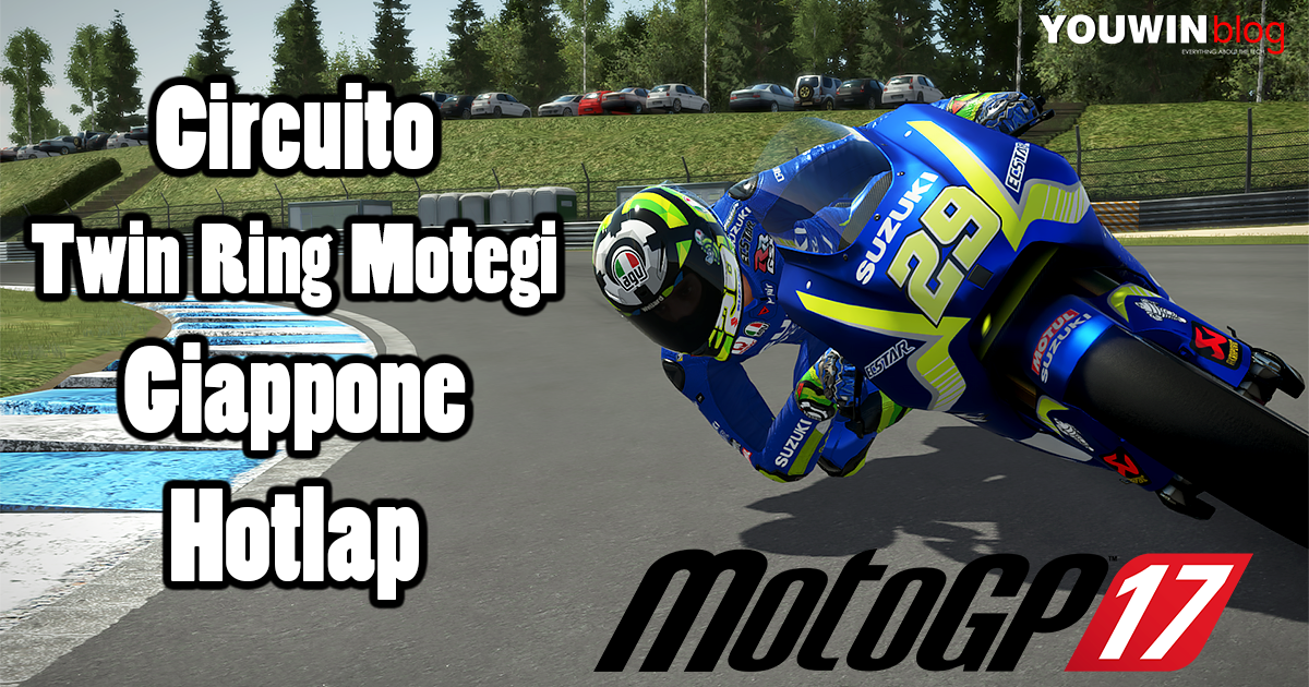 MotoGP 17 Hotlap Suzuki @ Motegi