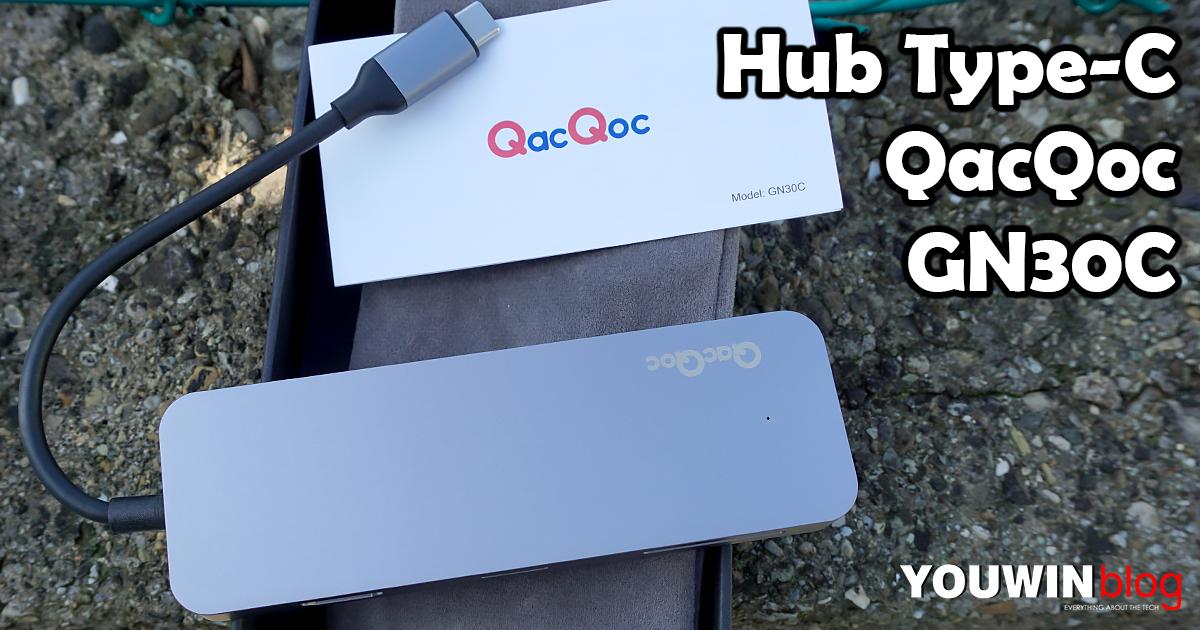 Hub USB C QacQoc GN30C