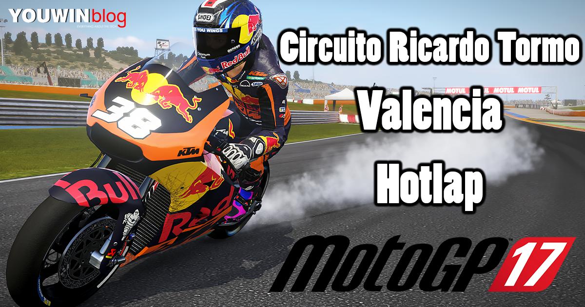 MotoGP 17 Hotlap KTM RC16 @ Valencia