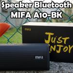 Speaker Bluetooth Mifa A10-BK