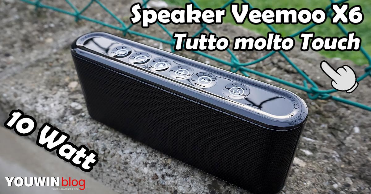 Speaker Bluetooth Veemoo X6