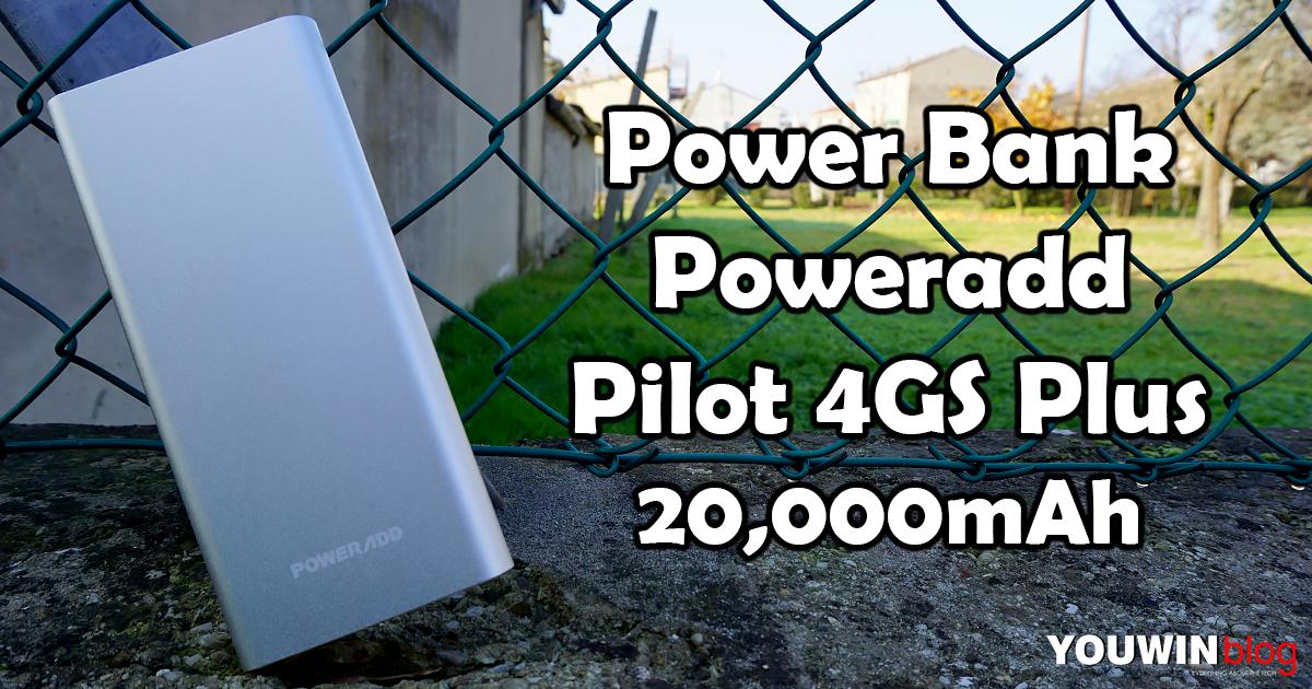Power Bank Pilot 4GS da 20000mAh