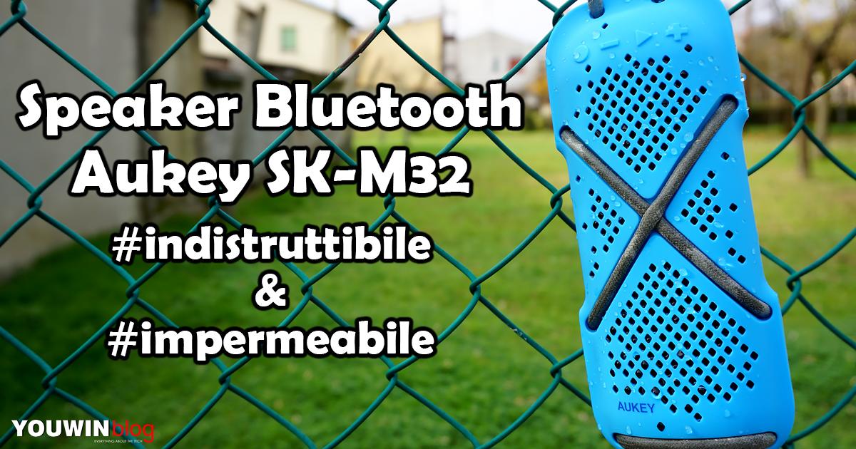 Speaker Bluetooth Aukey SK-M32