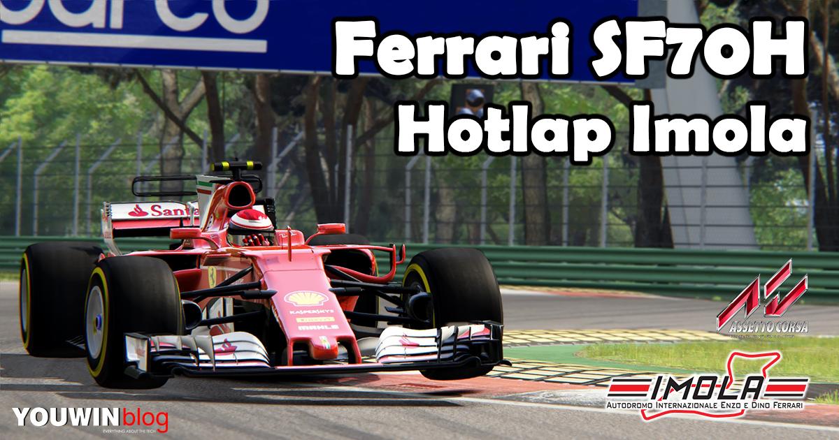 Assetto Corsa HotLap Ferrari SF70H @ Imola