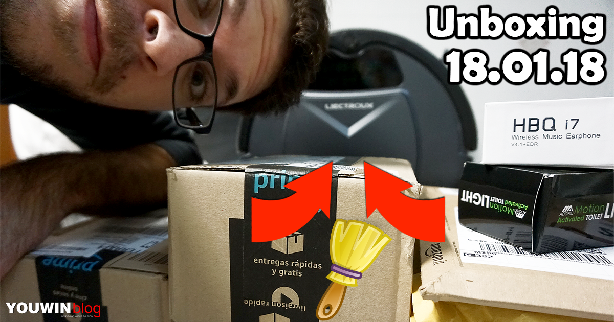 Unboxing Pacchi 18.01.18