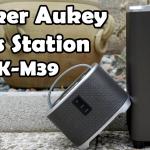 Speaker Aukey Bass Station
