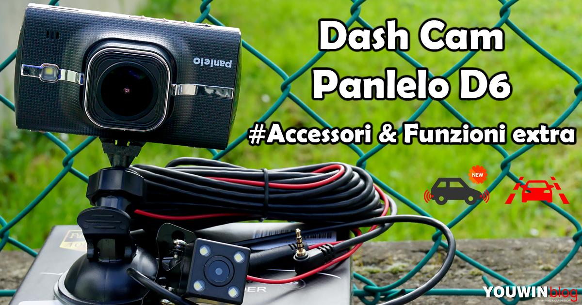 Dash Cam Panlelo D6