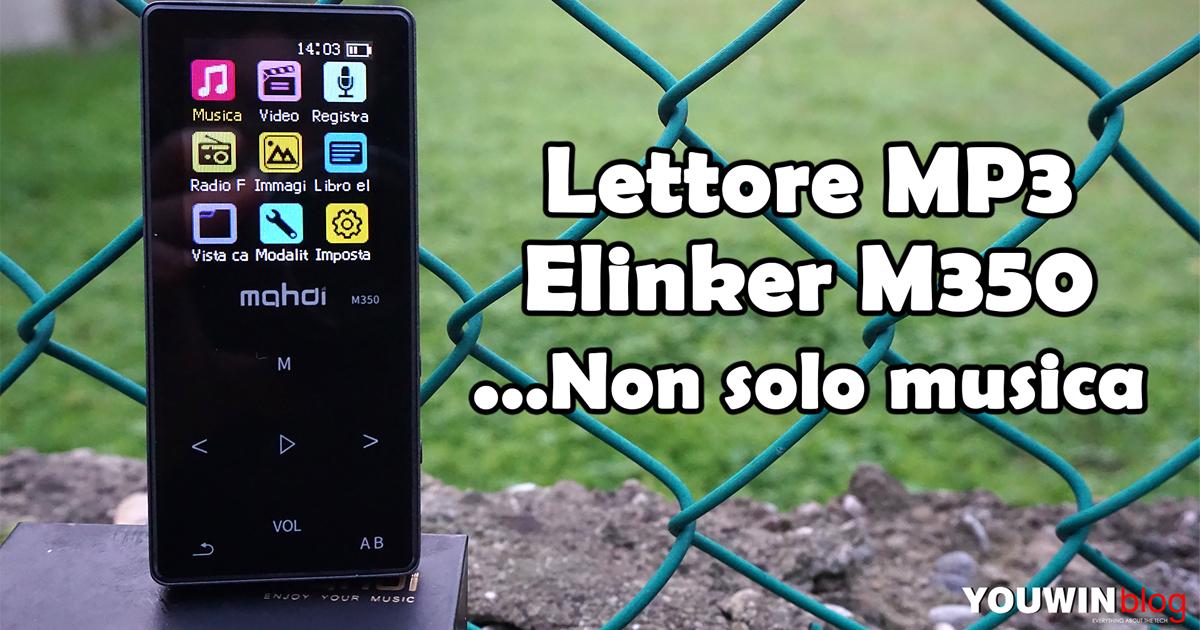 Lettore MP3 Elinker M350