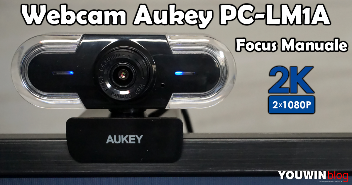 Webcam Aukey 2K PC-LM1A