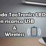 Lampada da tavolo TaoTronics TT-DL036