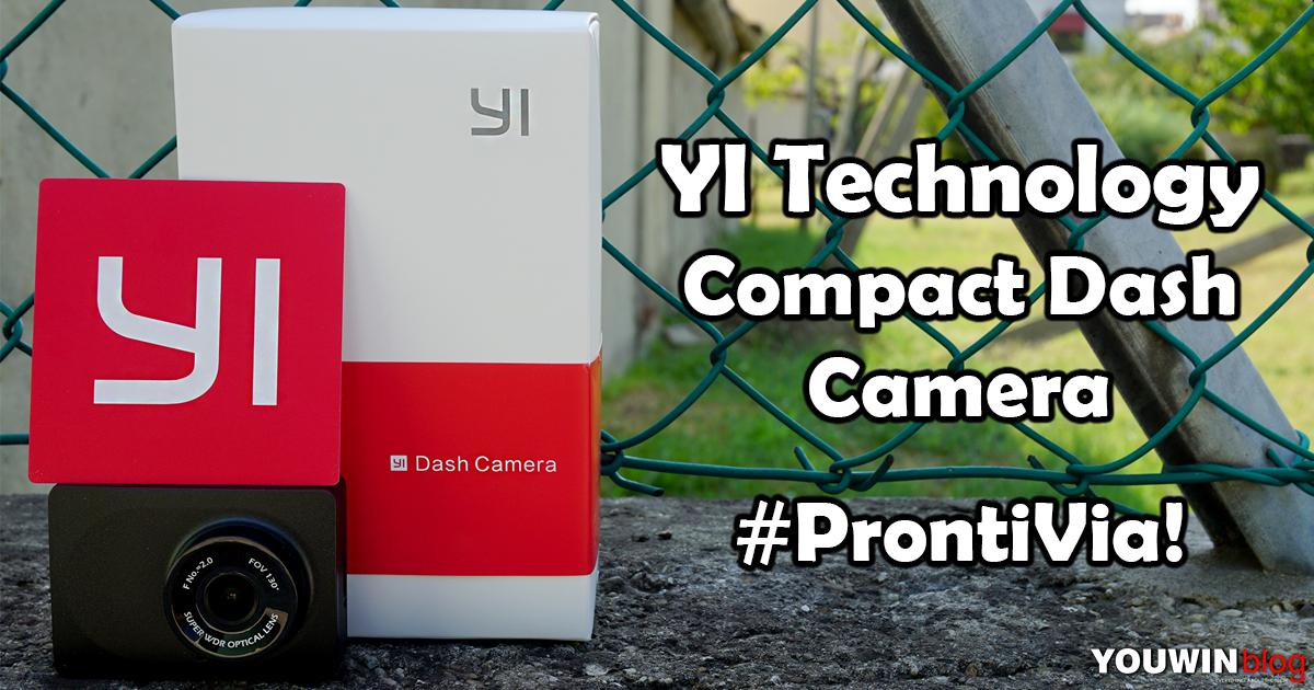 YI Compact Dash Cam YCS.1A17
