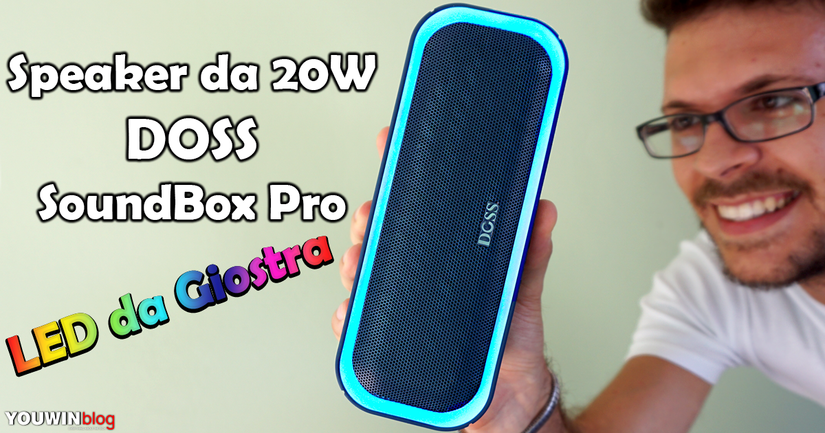 Speaker DOSS SoundBox Pro