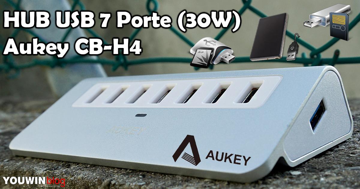 HUB USB Aukey 7 porte CB-H4