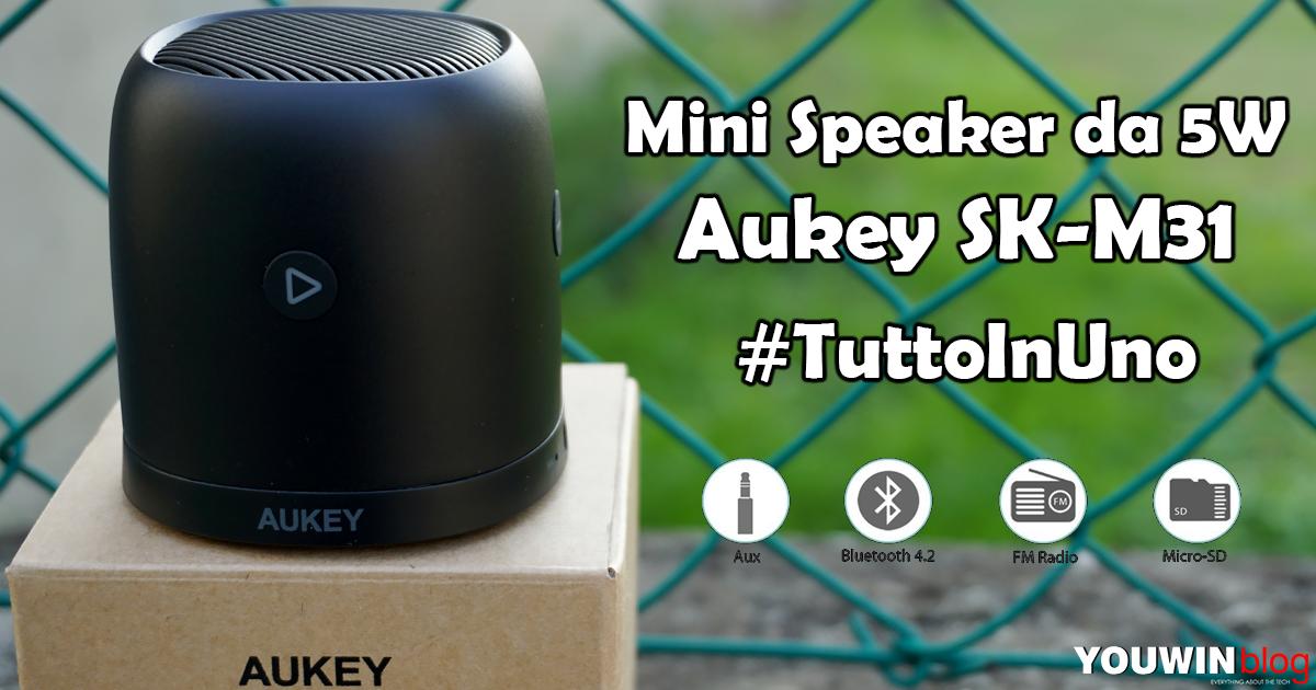 Mini Speaker Aukey SK-M31