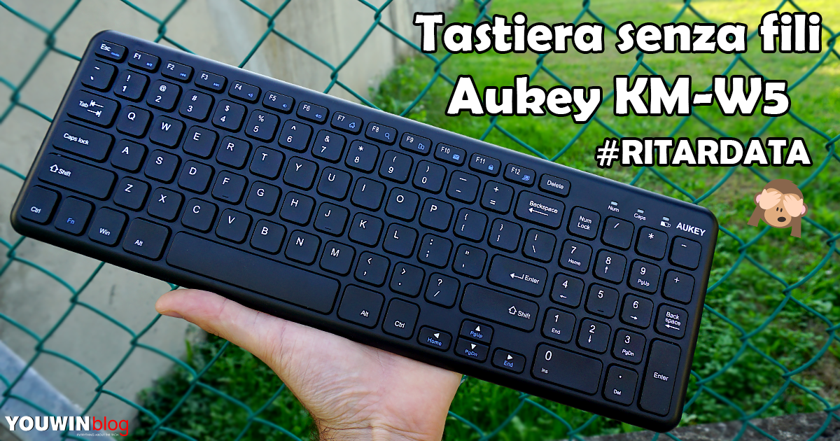 Tastiera wireless Aukey KM-W5