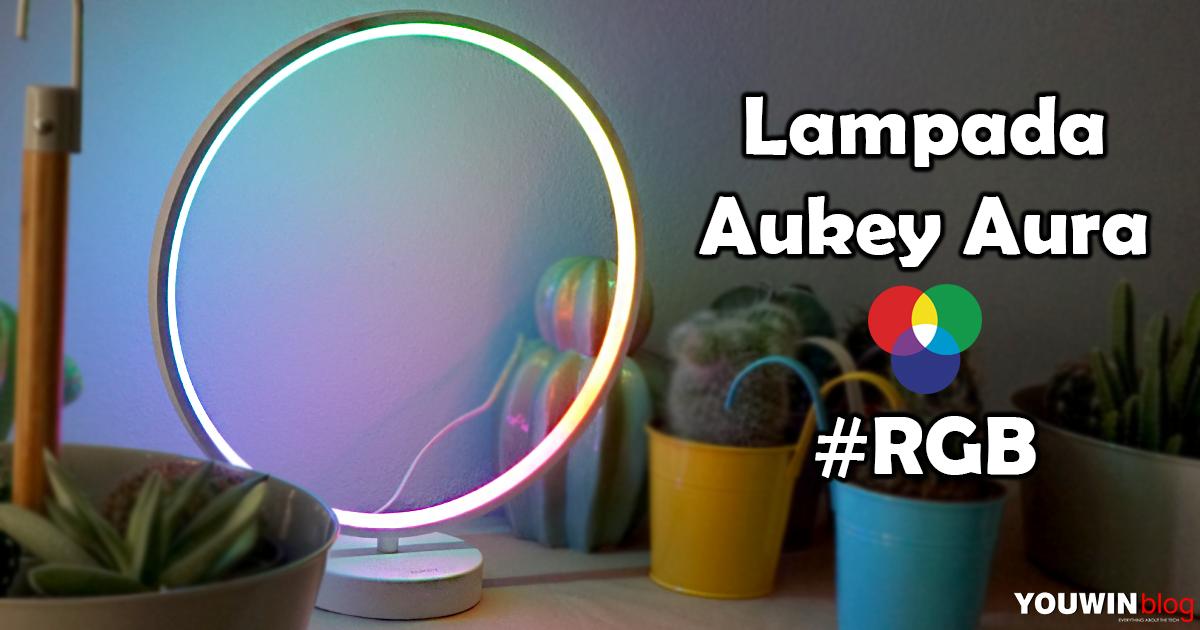Lampada Aukey Aura RGB