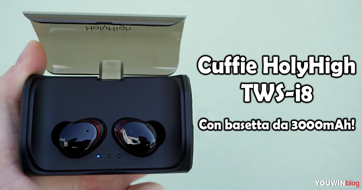 Cuffie HolyHigh TWS-i8